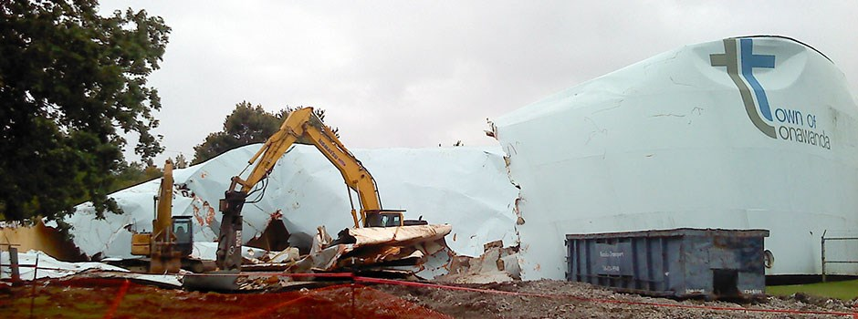 Water Storage Tank Demolition