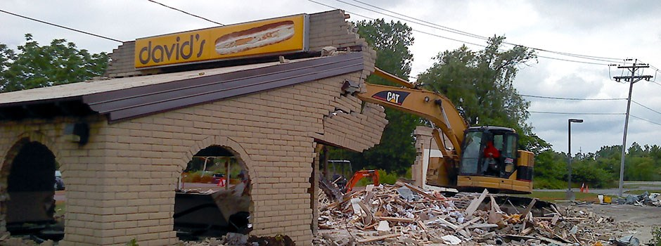 Restaurant Demolition